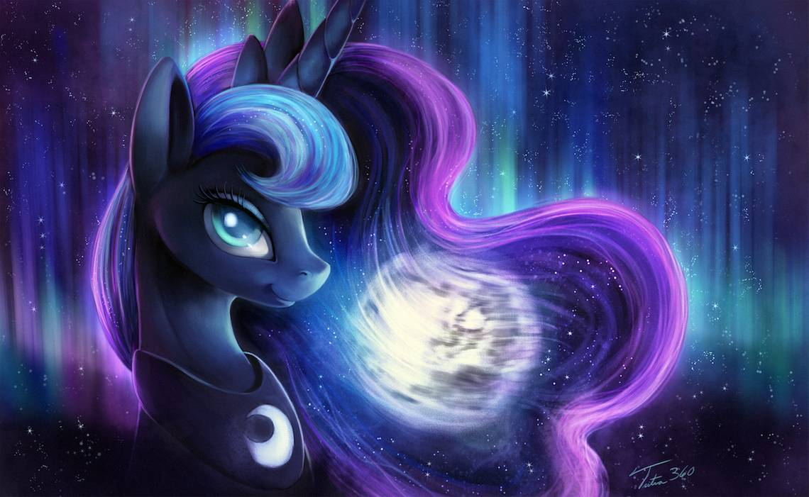 Luna - Commission by Tsitra360 on DeviantArt