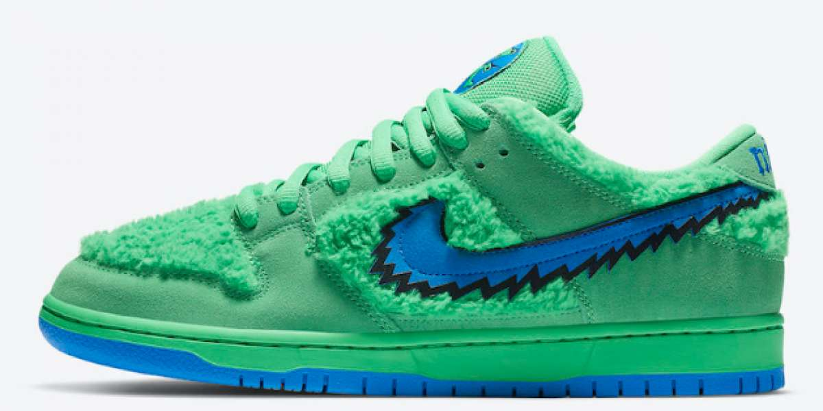 "Grateful Dead x Nike SB Dunk Low ""Green Bear""  2020 CJ5378-300 New Released"