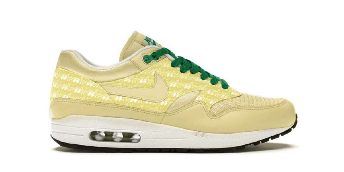 """Classic Nike Air Max 1 PRM """"Lemonade"""" will be reissued for summer 2020"""